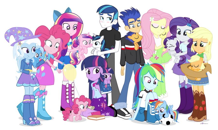 Ponies For Everyone by dm29