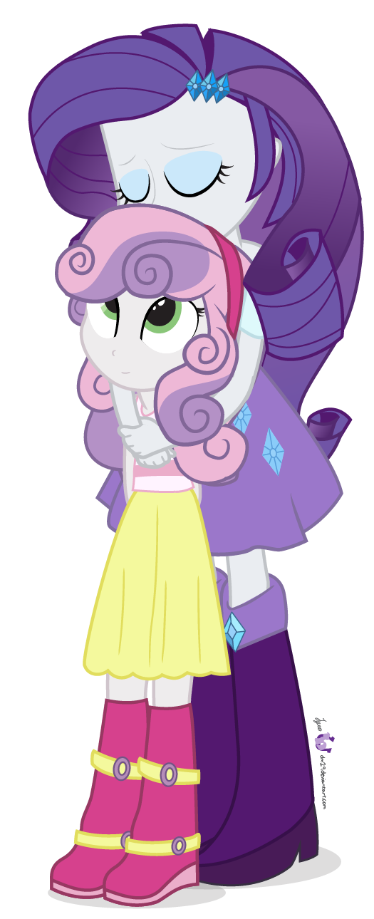 My little pony rarity and sweetie belle - photo#54