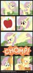 Comic Block: Flutterbat Instincts by dm29