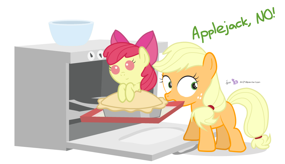 Bad Applejack! by dm29