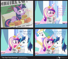 Comic Block: The Fast Food Scandal by dm29