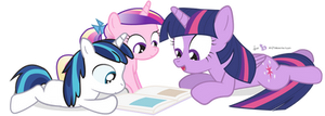 Storytime with Shiny and Cadance