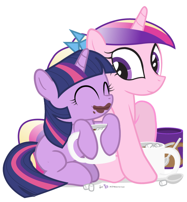 Cadance's Little Cup of Happiness by dm29
