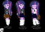 Twilight Sparkle, Equestria Academy Ver.