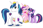 The Tiara Is On the Other Princess