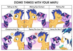 Comic Block? Doing Things With Your Waifu by dm29