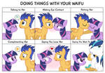 Comic Block? Doing Things With Your Waifu