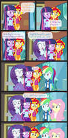Comic Block: The Support A Girl Needs by dm29