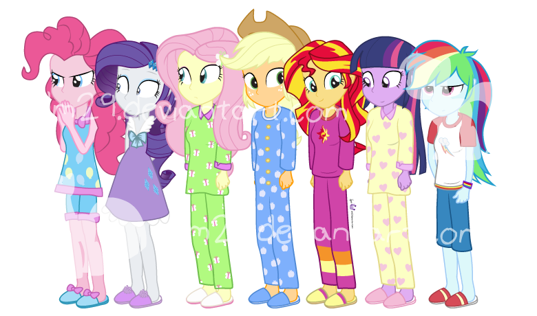 Toys For 7 And Up Mane Provided : Eqg rr slumberparty by dm on deviantart