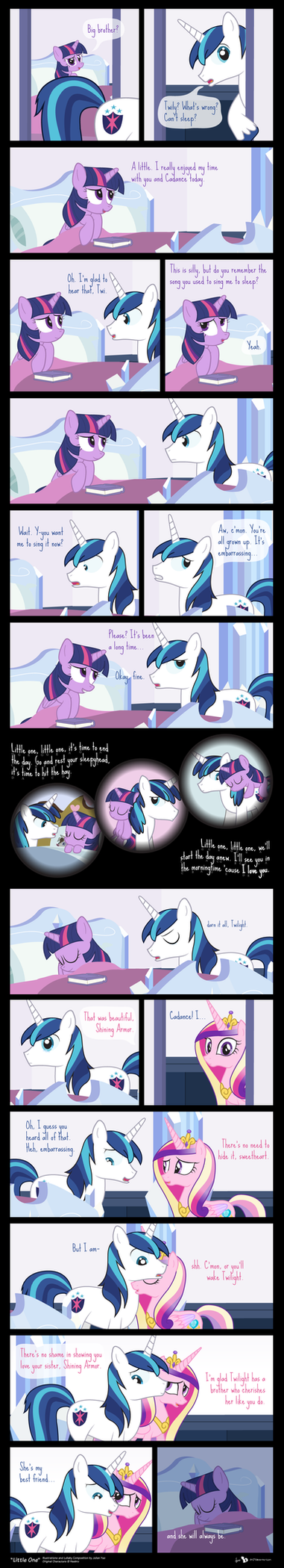 Comic Block: Little One by dm29