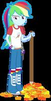 Equestria Girls: Rainbow Rakes