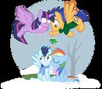 SparkleFlash Mistletoe Mobilisation Team!