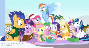 Happy Hearth's Warming From The Crystal Empire