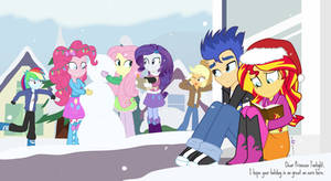 Merry Christmas From Canterlot High