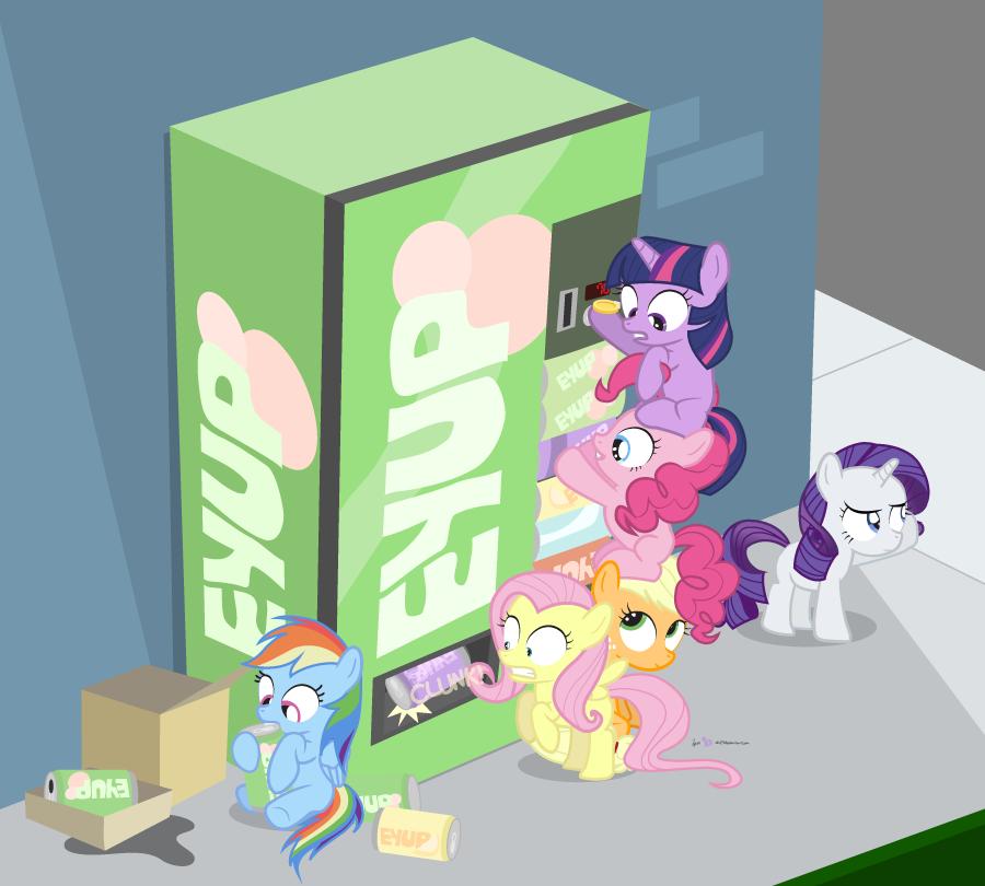 Pony Drinks Raid