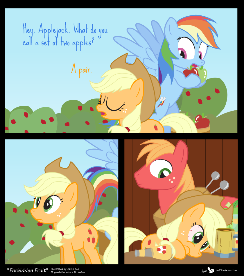 Comic Block: Forbidden Fruit