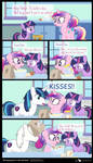 Comic Block: Somepony's In The Kitchen