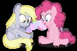 Pinkie Pie's Frosting Gun