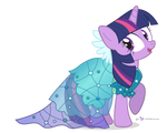 Twilight Sparkle: Princess Dress Ver.