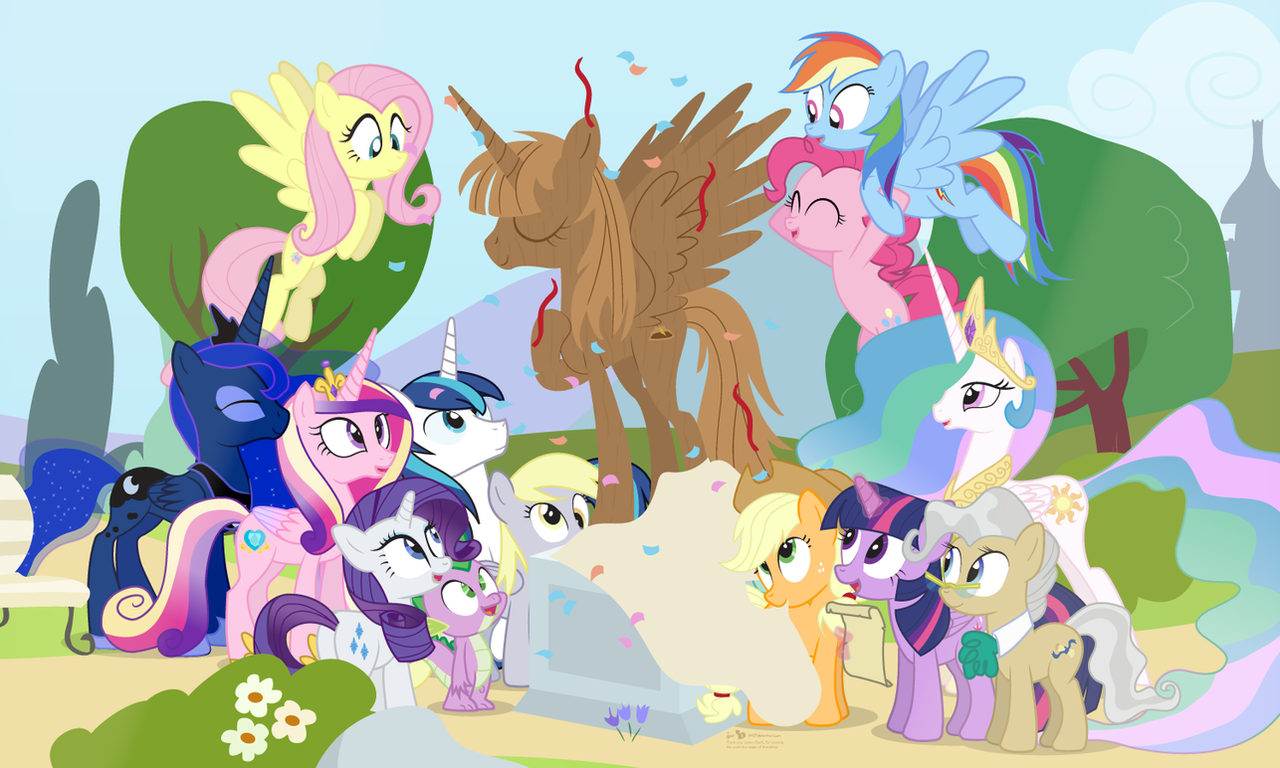 Five Years Of Pony By Dm29 On Deviantart