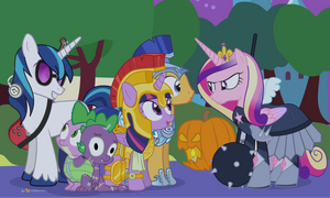 A Crystal Empire Halloween