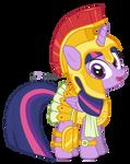 Twilight Sparkle: Athena Armor Ver.
