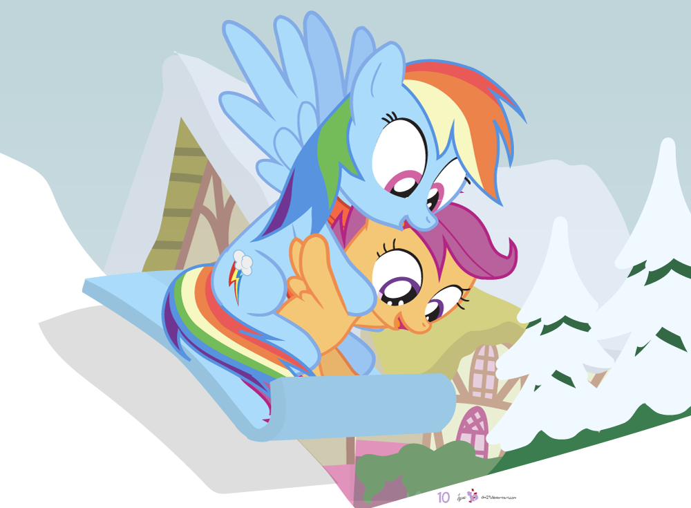Dm29holidayhorse Day 10 Rainbow Dash Scootaloo By Dm29 On Deviantart Rainbow dash and scootaloo brain freeze. rainbow dash scootaloo by dm29
