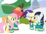 #dm29HolidayHorse Day 11: The Ponytones