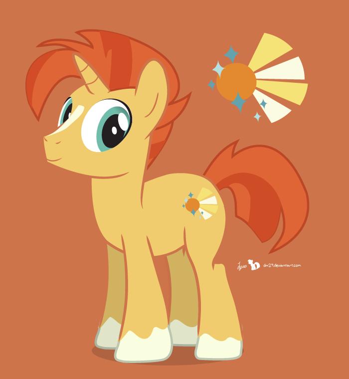 Sunburst: Pony Illustrator Test