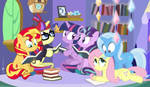 Princess Twilight's Book Club