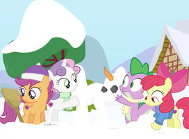 #dm29HolidayHorse Day 19: Spike and the CMC by dm29