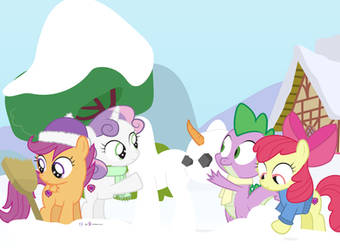#dm29HolidayHorse Day 19: Spike and the CMC