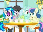 #dm29HolidayHorse Day 22: (Some) Background Ponies