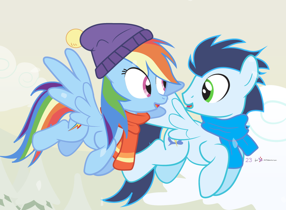 soarin and rainbow dash