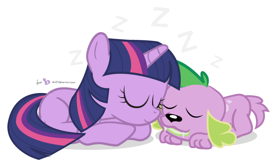 Nap Time with Twily and Spike [!C]