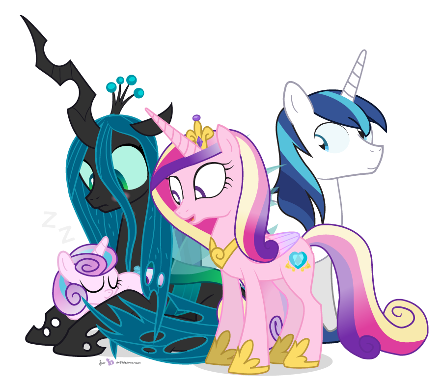 Queen Chrysalis in 'Too Precious'
