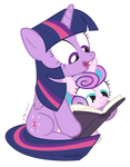 Aunt Twilight Gets To Work