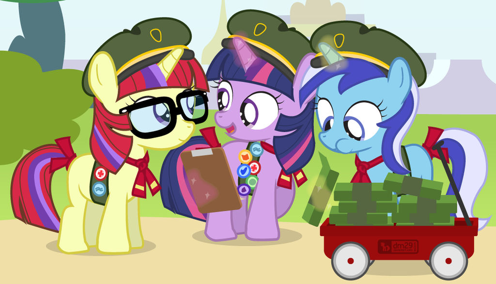 Cookie Scout Fillies