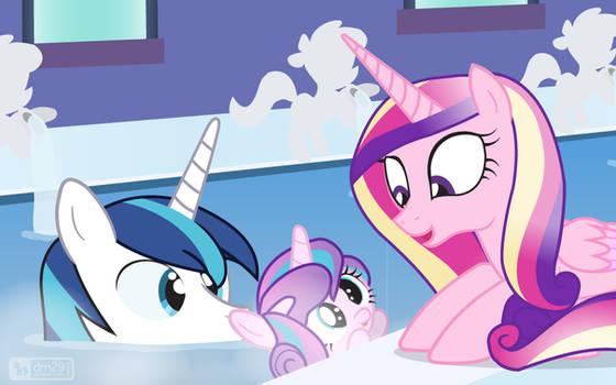 Flurry Heart's Bath Time