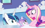 Flurry Heart's Bath Time