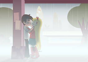 Kisses in the Rain by dm29