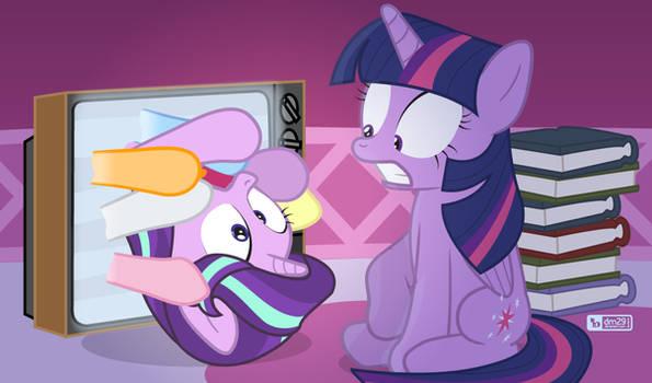 Help me, Twilight!