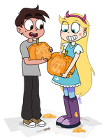 Proud Pumpkins by dm29