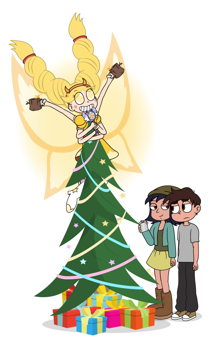 she is a christmas star