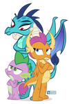 The Dragons Three