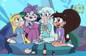 Slumber Party Storytime [!P] by dm29