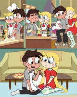 Pizza Adventures with Marco and Star by dm29