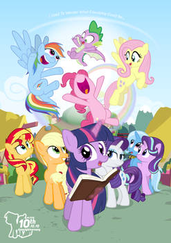 MLPFIM: The 10th Anneighversary