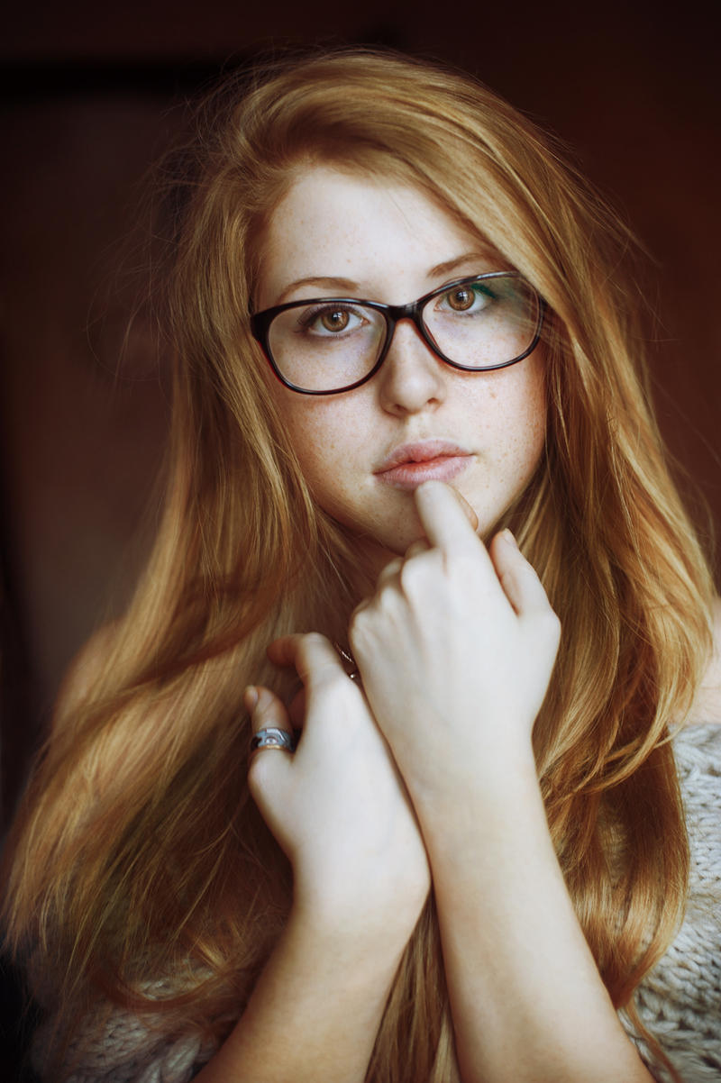 Porn Redhead Glasses 75