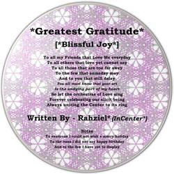 Greatest Gratitude - RzICx